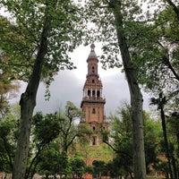 Foto tomada en Parque de María Luisa por BOUTIQUE HOTEL H. el 4/11/2013