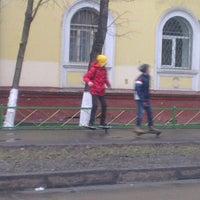 Photo taken at Сквер на улице Кирова by Натка К. on 4/4/2014