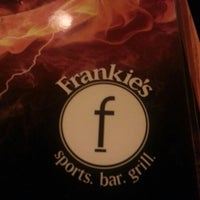Photo taken at Frankie's Sports Bar & Grill by Humberto R. on 11/11/2012