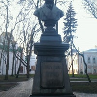 Photo taken at Памятник Пушкину А.С. by Alexander M. on 11/30/2012