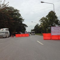 Photo taken at Ban Suan Phak Junction by Ford B. on 9/18/2013