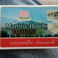 Photo taken at Martina Hotel Surin by Viggo H. on 12/1/2014