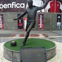 Photo taken at Estádio do Sport Lisboa e Benfica by Fabian N. on 11/20/2012