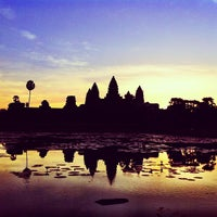 Photo taken at Angkor Wat by Theera T. on 12/17/2012