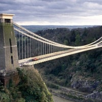 Photo taken at Clifton Suspension Bridge by Rodney T. on 12/7/2012