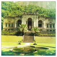 Photo taken at Parque Lage by Clara O. on 1/6/2013