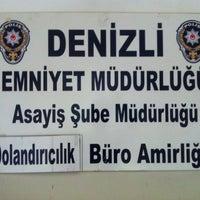 Photo taken at Denizli İl Emniyet Müdürlüğü by Fatih Mehmet V. on 7/9/2013