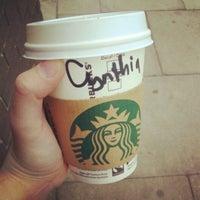 Photo taken at Starbucks by Cynthia M. on 5/10/2013