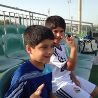 Photo taken at AFOC Grass Field by BuSaif A. on 3/9/2013