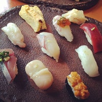 Photo taken at Sushi Den by hidets_f on 4/26/2014