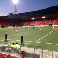 Photo taken at Stade de la Maladiere by Igor D. P. on 2/9/2013