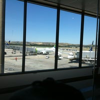 Photo taken at Gate C42 – T1 (MAD) by Monica L. on 6/3/2013