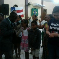 Photo taken at Igreja Elos de Cristo. Lauro de Freitas. by Abimael N. on 5/9/2013