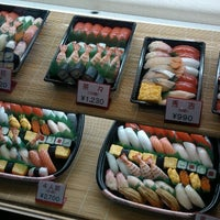 Photo taken at 天下寿司 高田馬場店 by Najwa H. on 4/30/2014