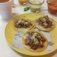 Photo taken at Tacos El Sonorense by Carlos R. on 3/10/2013