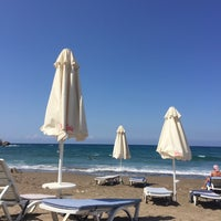 Photo taken at Esentepe Beach by Umut D. on 9/6/2017