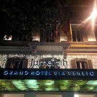 Foto scattata a Grand Hotel Via Veneto da Bin F. il 1/3/2013
