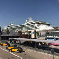 Photo taken at Terminal B del Port de Barcelona by Martins L. on 8/17/2017