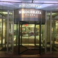Снимок сделан в Nikolskaya Plaza пользователем Ksenia Ⓜ. 2/9/2013