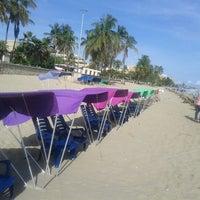Photo taken at Playa Los Canales by Jhonny V. on 11/2/2012