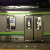Photo taken at JR 横浜線 東神奈川駅 by Pon N. on 5/17/2013