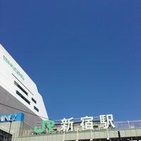 Photo taken at Shinjuku Station by Pon N. on 5/2/2013
