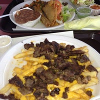 Photo taken at Jim's Burgers by Lisa Y. on 1/13/2013
