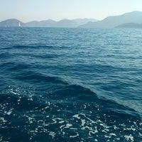 Photo taken at denizin ortası by Behiye U. on 6/27/2013