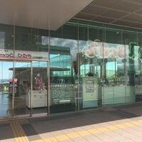 Photo taken at 日立駅情報交流プラザ ぷらっとひたち by なっかー on 3/9/2017