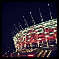 Photo taken at PGE Narodowy by Robert U. on 7/28/2013
