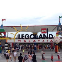 Photo taken at LEGOLAND Malaysia by Aseel A. on 10/22/2014