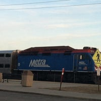 Photo taken at Metra BNSF - Route 59 by Iya I. on 4/3/2013