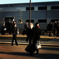 Photo taken at Metra BNSF - Route 59 by Iya I. on 4/2/2013