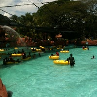 Photo taken at A'Famosa Water World by Miezan H. on 3/2/2013