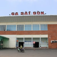 Photo taken at saigon station by Kazutoshi M. on 3/2/2014