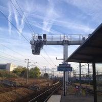 Photo taken at RER Stade de France Saint-Denis [D] by Sandrine V. on 10/4/2012