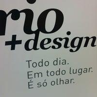 Photo taken at Rio + Design by Bruna G. on 12/2/2012