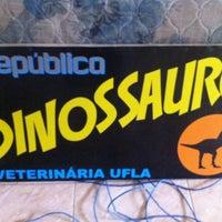 Photo taken at Republica dos Dinossauros by Ricardo M. on 6/8/2013