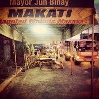 Photo taken at J.P. Rizal Bridge by Juane E. on 2/19/2013