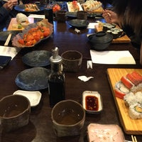 Photo taken at Sushi Mura by Tina F. on 9/18/2017