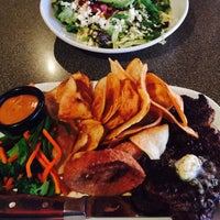 Photo taken at Mr Mikes Steakhouse & Bar by Tina F. on 5/3/2017