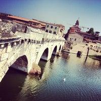 Photo prise au Ponte di Tiberio par ❤Julianna S. le7/25/2013