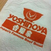 Photo taken at Yoshinoya by Leovina S. on 11/24/2012
