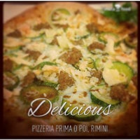 Photo taken at Pizzeria Prima O Poi by Carol on 1/10/2015