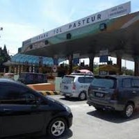 Photo taken at Pasteur Toll Gate by Wandy K. on 3/12/2013