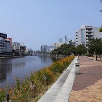 Photo taken at 博多 清流公園 by Nagono on 8/14/2013