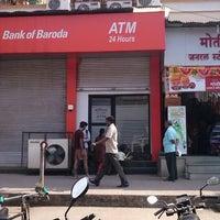 Photo taken at badoda bank atm by Sameer M. on 11/25/2012