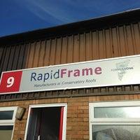 Photo taken at Rapid Frame by BlindsInGlass on 1/14/2013