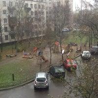 Photo taken at Детская площадка во дворе 41/3 by Вова Р. on 11/3/2012