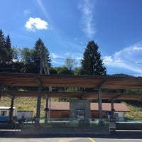 Photo taken at Bahnhof Gstaad by Siddhartha J. on 8/3/2015